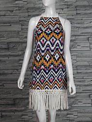 お買い得  -女性用 クラシック・タイムレス ルーズ ドレス - その他, 多色
