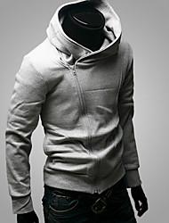 economico -MEN - Giacche e cappotti - Informale/Lavoro Maniche lunghe Misto cotone