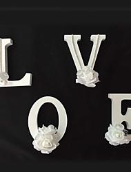 abordables -Fête de Mariage Bois Matériel mixte Décorations de Mariage Thème plage / Thème jardin / Thème Vegas / Thème asiatique / Thème floral /