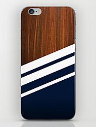 economico -Per iPhone 8 iPhone 8 Plus iPhone 6 iPhone 6 Plus Custodie cover Fantasia/disegno Custodia posteriore Custodia Simil-legno Resistente PC
