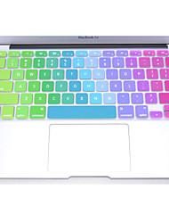 """coosbo® coloré clavier silicone peau de couverture de protection pour 11 """", 12"""", 13 """", 15"""", 17 """"macbook air pro rétine"""