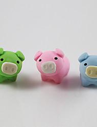 Lovely Pig Datechable Rubber Eraser (Random)