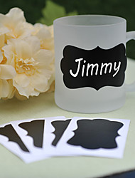 cheap -PVC Blackboard Stickers ---- Spring (set of 6) Wedding Favors