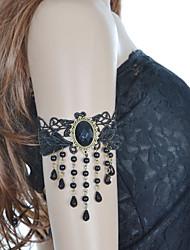 vintage lolita kvast perle armbånd klassisk feminin stil