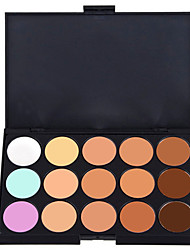 cheap -15 Colors Eyeshadow Palette / Cream Eye Concealer Natural Party Makeup / Smokey Makeup Makeup Cosmetic / Matte / Shimmer