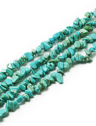 "Beadia Turquoise Stone Beads 5-8mm Irregular Shape DIY Loose Beads Fit Necklace Bracelet Jewelry 34""/Str"