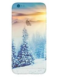 economico -Per Custodia iPhone 5 Fantasia/disegno Custodia Custodia posteriore Custodia Paesaggi Morbido TPU iPhone SE/5s/5