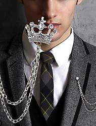 Недорогие -Европейская мода корона сплава брошь (1шт)