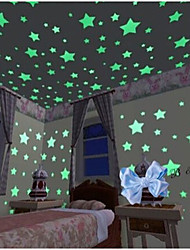 cheap -Shapes Wall Stickers Luminous Wall Stickers Decorative Wall Stickers, Vinyl Home Decoration Wall Decal Wall