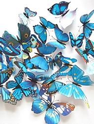 Недорогие -Животные Наклейки 3D наклейки Декоративные наклейки на стены Наклейки на холодильник Свадебные наклейки, Винил Украшение дома Наклейка на