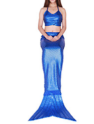Children Mermaid Tails girls Fish Cosplay Costumes Party Mermaid Tail Fairytale Festival/Holiday Halloween Costumes Halloween Children's Day Kid