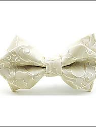 Недорогие -Муж. Для вечеринки Для офиса Классический Бабочка - Бант Многослойность Искусственный шёлк, Однотонный Жаккард