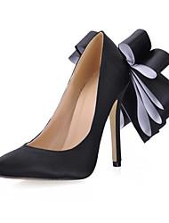 Homme-Habillé Décontracté Soirée & Evénement-Noir Rose-Talon Aiguille-Confort-Chaussures à Talons-Soie