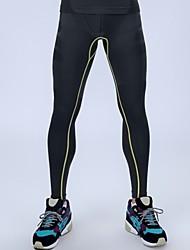 ジョギングタイツレギンス男性のパンツを実行している圧縮タイツジムフィットネスプロスポーツ男性のパンツ高弾性