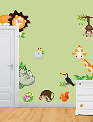 abordables -Animales Pegatinas de pared Calcomanías de Aviones para Pared Calcomanías Decorativas de Pared,Vinilo Material RemovibleDecoración