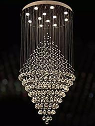 cheap -LED Transparent Crystal Chandeliers Round Pendant Light Lighting Lamps Fixtures AC 100 to 240V D80CM H160CM