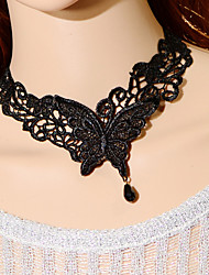 cheap -Vintage Butterfly Form Necklace