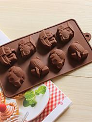 coches para hornear de avión para hornear galletas moldes moldes moldes de chocolate del molde del hielo