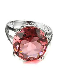 cheap -Statement Rings Fashion Colorful Zircon Cubic Zirconia Platinum Plated Jewelry For Wedding Party 1pc