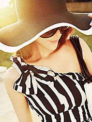 cheap -Women Casual Summer Linen/Straw Floppy Sun Hat