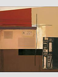 手描きの 抽象画Modern / 欧風 1枚 キャンバス ハング塗装油絵 For ホームデコレーション