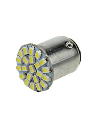 cheap -1X White 1157 BAY15D 22 1206 SMD LED Brake Turn Signal  Light Bulb Lamp  DC 12V E015