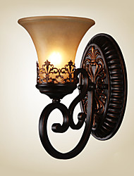 cheap -Ecolight™ Country Wall Lamps & Sconces Resin Wall Light 110-120V / 220-240V 60W