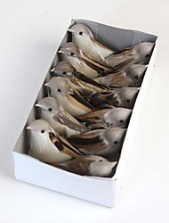 A Box of Artificial Birds Include 12Pcs Lovly High Quality Amazing