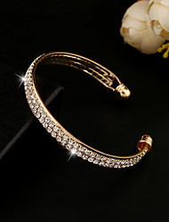 XIXI Women's The Newest Fashion Casual Gold Plated/Rhinestone Chain Bracelet Christmas Gifts