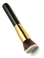 cheap -M0252 1PCS Gold Tube Black Handle Big Slanting Head Multifunction Brush