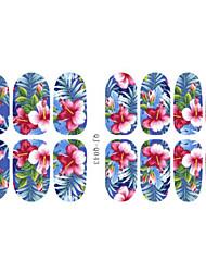 3D Nail Stickers - Muuta - Sarjakuva/Kukka/Lovely - Sormi - 14.2*7.5*0.1