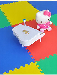 Children Crawling Mat Puzzle Mat 50 * 50 Foam Mat Floor Mat Baby Bag Stitching Random Color 4 Tablets.