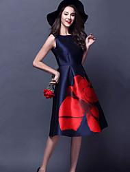 povoljno -Žene Chic & Moderna A kroj Haljina - Cvijetan, Cvjetni print