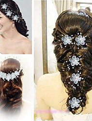 abordables -diadema imitación perla casco estilo femenino clásico