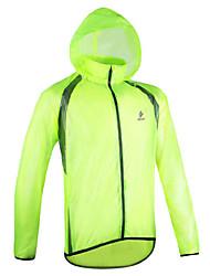 Hiking Raincoat Waterproof Rain-Proof Breathable Lightweight for Camping / Hiking Fishing Climbing Leisure Sports Cycling/Bike