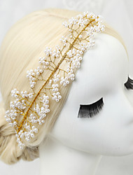 Women's Lace / Alloy / Imitation Pearl Headpiece-Wedding / Special Occasion Hair Combs 1 Piece