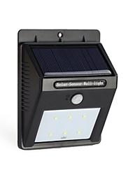 Недорогие -6LED солнечной энергии пир датчик движения настенный светильник открытый водонепроницаемый светильник сада