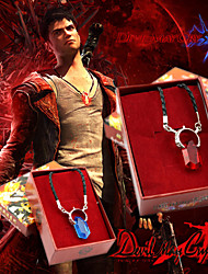 Jewelry Inspired by Devil May Cry Cosplay Anime/ Video Games Cosplay Accessories Necklace Red / Blue Alloy / Artificial GemstonesMale /
