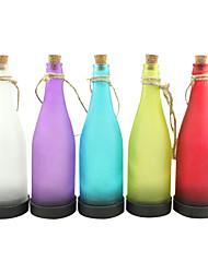 cheap -5PCS Solar Bottle Lamp LED Decoration Light Interspersion Pendant Light Multicolor