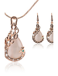 cheap -Women's Jewelry Set Drop Earrings Pendant Necklaces Cute Party Elegant Bridal Festival/Holiday Party Special Occasion Anniversary