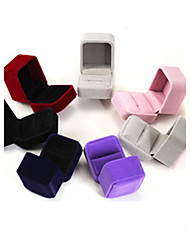cheap -6*5*4CM Flannel /Earrings/Ring/ Jewelry Boxes 1pc Elegant Style