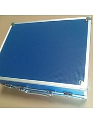 1PCS BaseKey Tattoo  Blue Small Aluminum Box