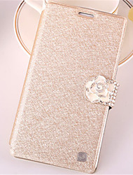 cheap -Case For Samsung Galaxy Samsung Galaxy Case Card Holder / Rhinestone / with Stand Full Body Cases Glitter Shine PU Leather for Win / Style Duos / J7 (2016)