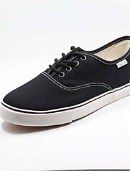 cheap -Men's Shoes Fabric Casual Fashion Sneakers Casual Black / Blue / Gray