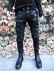 MEN - スエットパンツ (ブラック , その他) - カジュアル - プレイン