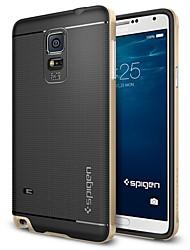 levne -Carcasă Pro Samsung Galaxy Samsung Galaxy Note Galvanizované Zadní kryt Geometriské vzory TPU pro Note 5 Edge / Note 5 / Note 4