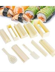 Недорогие -Janpan суши производитель формирователь риса модели решений комплект кухня для еды пикника