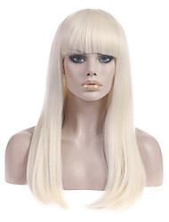 cheap -Women Synthetic Wig Capless Long Straight With Bangs Halloween Wig Carnival Wig Costume Wig