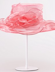 cheap -Organza Hats Headpiece Wedding Party Elegant Classical Feminine Style