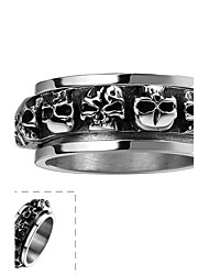 cheap -Men's Ring Unique Design Fashion Punk Stainless Steel Others Skull Jewelry Halloween Daily Casual Sports
